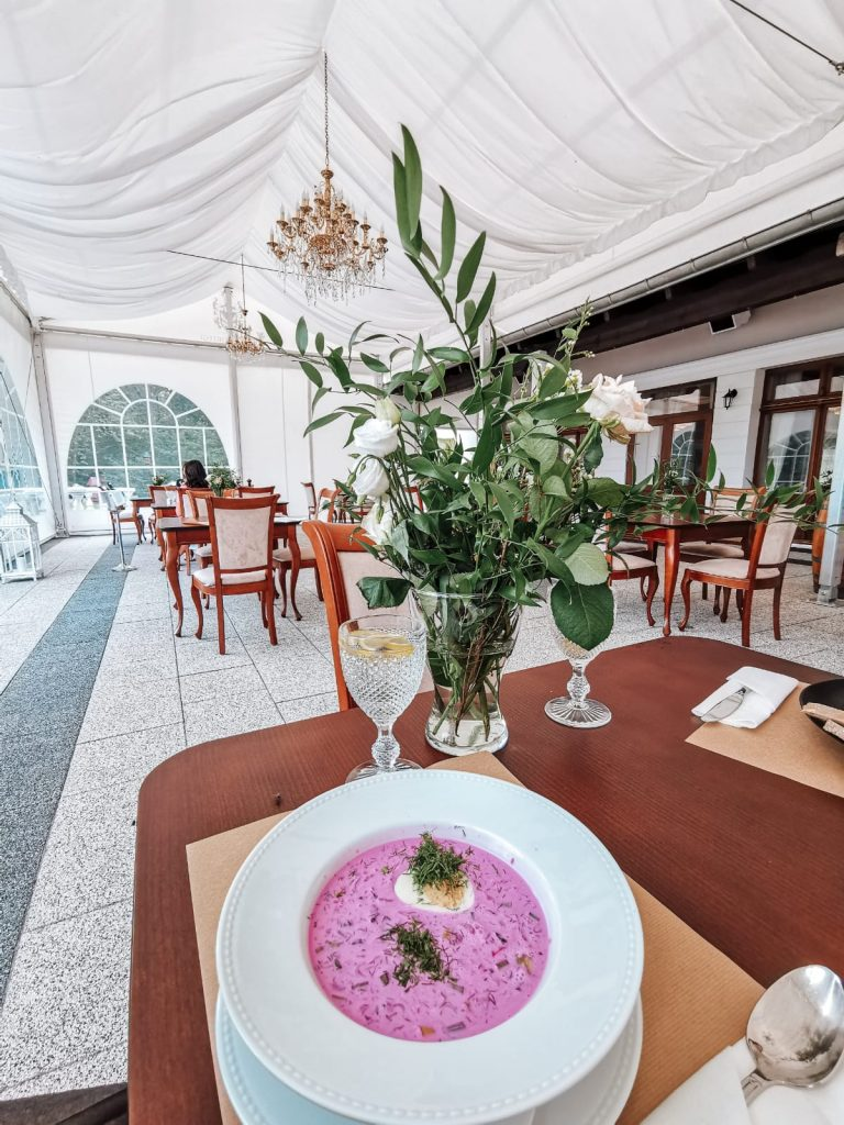 Restaurant - Best luxury retreat in Masuria | Pałac Mortęgi | Mortęgi Palace | Best SPA resort in Poland