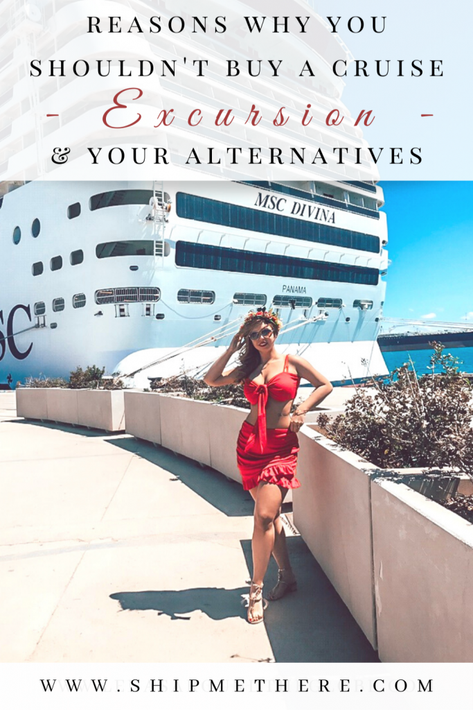 Reasons why you shouldn't buy a cruise excursion - Cruise excursion alternatives - How to plan a day in port on your own - What to do on a cruise port day - What to do on a cruise - How to travel on a cruise - Things to visit on a cruise - How to visit ports on a cruise - Visiting ports on a cruise